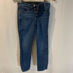 J Crew Vintage Straight Jeans Size 25
